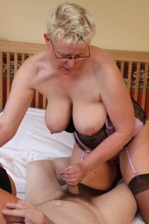Old Threesome Pussy